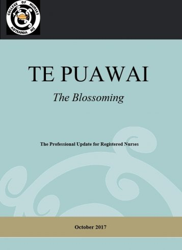 Te Puawai October 2017