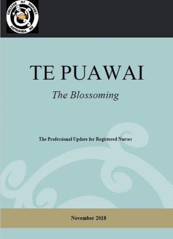 Te Puawai November 2018