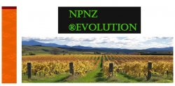 NPNZ CONFERENCE 2019 ®EVOLUTION - Closed