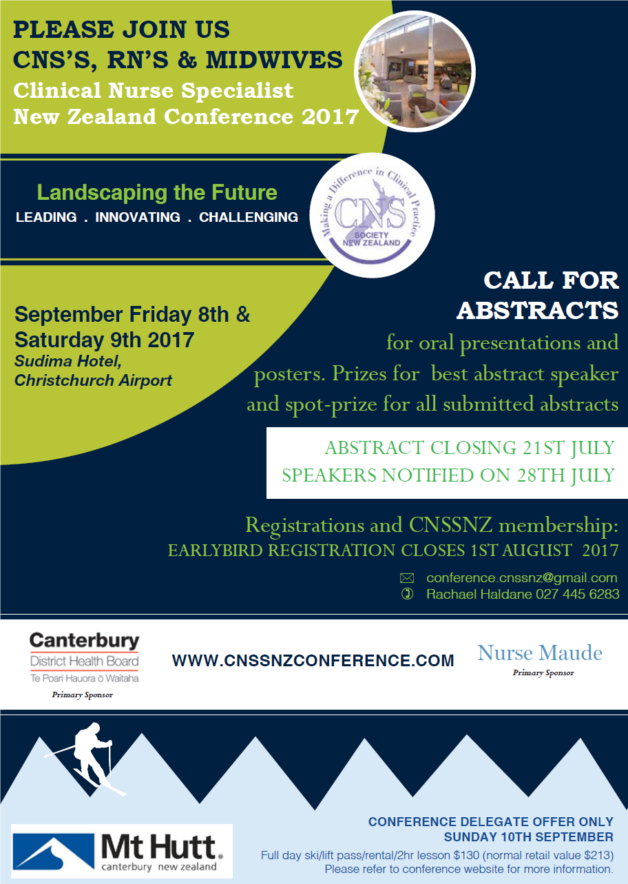 CNSSNZ Flyer 2017
