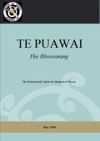 Te Puawai May 2018